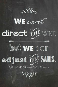 direction of the wind and sails